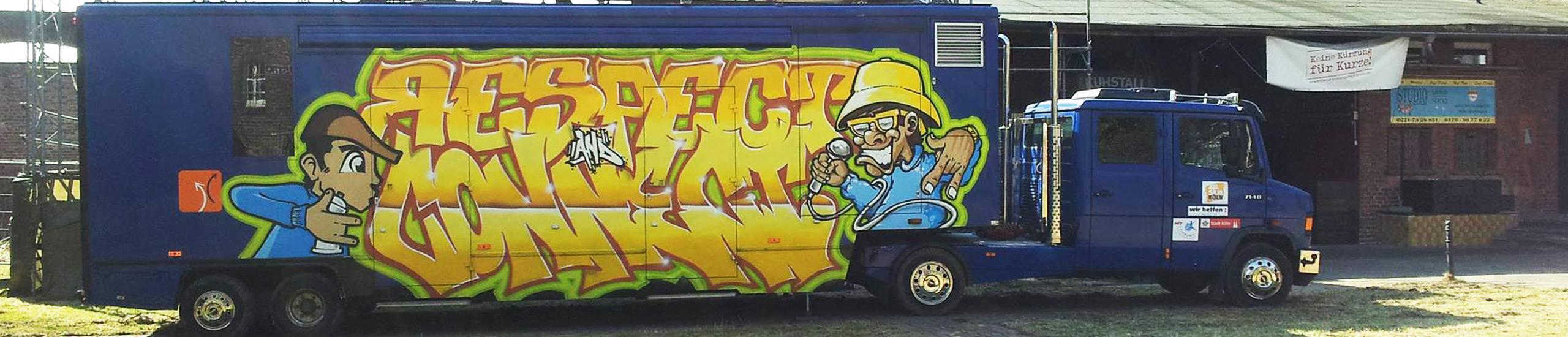 Jugendkulturprojekt Treff im Truck